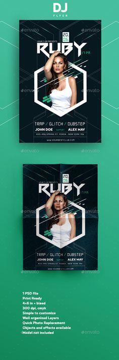 Guest DJ Flyer - #Clubs & #Parties #Events Download here: https://graphicriver.net/item/guest-dj-flyer/20113687?ref=alena994