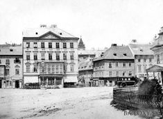 Bratislava, Old Street, Old Pictures, Louvre, Street View, Retro, Country, Building, Places
