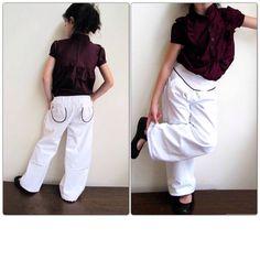Kensington Trousers and Shorts pattern girl par terrastreasures1