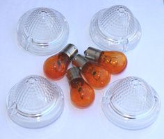 Clear and Smoke Lenses with Amber Bulbs