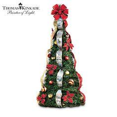 Thomas Kinkade Holiday Classics Pre-Lit Pull-Up Tree