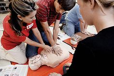 Red Cross CPR Training.  Requirement 2a for Discovery Award.
