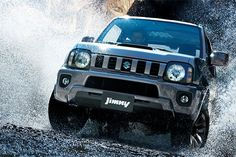 Suzuki Jimny - The iconic with retro design, unbeatable handling and the safety features for off-roading. Talk to a Suzuki dealer. Best Off Road Vehicles, Suzuki News, Jimny Sierra, Jimny Suzuki, First Car, Retro Design, Cars Motorcycles, Samurai, Automobile