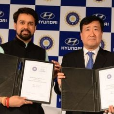 Hyundai is now the official partner of BCCI #melbourne