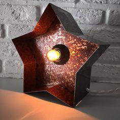 Ночник звёздочка с лампочкой. Instagram: craft_and_lamp