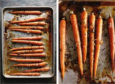 Farmhouse carrots— simple things.