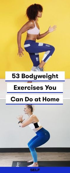 These bodyweight workouts for women can help tone and strengthen your arms, legs, upper body, abs, and all over! These bodyweight exercises are HIIT, yoga, and pilates-inspired and totally equipment-free. Incorporate these into your daily workout plan for a solid fitness routine without a gym!