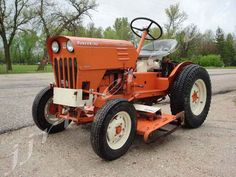 1967 economy power king utility tractor in original unrestored jj riverside mfg power king 1614 gas lawn garden tractor