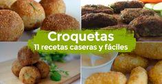 11 recetas para hacer croquetas caseras     #CroquetasDePollo #CroquetasCaseras #ComoHacerCroquetas #CroquetasFaciles #CocinaEspañola #Tapas #Aperitivo