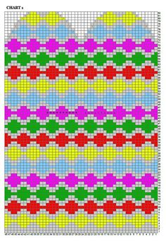 Рукавицы.. Обсуждение на LiveInternet - Российский Сервис Онлайн-Дневников Knitting Charts, Knitting Stitches, Hand Knitting, Knitting Patterns, Knitted Mittens Pattern, Knit Mittens, Knitted Gloves, Crochet Chart, Knit Or Crochet