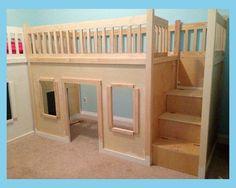Deciding to Buy a Loft Space Bed (Bunk Beds). – Bunk Beds for Kids Boys Loft Beds, Toddler Loft Beds, Bunk Beds With Stairs, Kid Beds, Loft Twin Bed, Kids Beds Diy, Diy Childrens Beds, Queen Loft Beds, Kids Beds For Boys