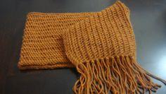 Handmade alpaca scarf ! 100% baby alpaca. Mesa heather color.