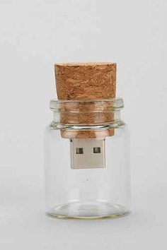 Message in a Bottle USB Drive, $28 | 33 Rad Supplies That Will Make You Pumped To Go Back To School