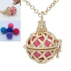 Essential Oil Diffuser, Essential Oils, Diffuser Necklace, Cage, Essentials, Copper, Pendant Necklace, Amazon, Jewelry