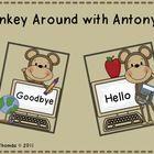 Monkey Around with Antonyms