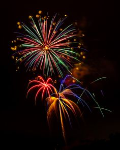 4th of July Fireworks at La Costa, Carlsbad, California -- by Steve Skinner, via 500px.com