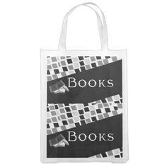 Books Reusable Grocery Bag