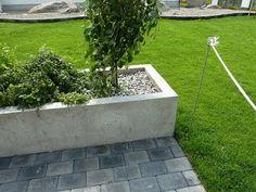 Istutuslaatikko betonista
