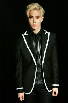 SUHO- EXO Official Goods Brochure