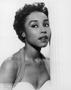 Diahann Carroll in 1955: All hail queen mother Diahann, who paved the way for every single black actress we love now when she became the first black woman to be the star of a network television show in Julia. Another black women wouldn't go on to do that again until 2012 when Kerry Washington got cast as Olivia Pope in Scandal.
