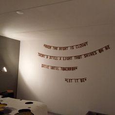 Let it be - letterslinger