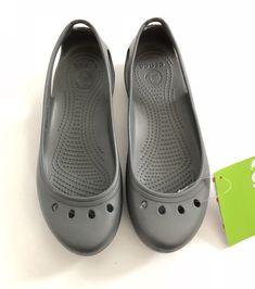40f858209201 Crocs Kadee BNWT-Size 8-Slate Grey-Ballet Flats Slingback Sandals Slip on  FS  fashion  clothing  shoes  accessories  womensshoes  flats (ebay link)