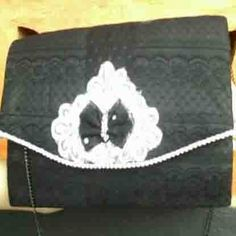 "Clutch Bag #13 ""Brukat"""