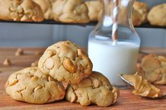 Honey Roasted Peanut Butter Chip Cookies from The BakerMama - Gold Medal Blog