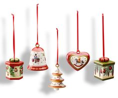 Love these Villeroy and Boch Christmas Ttree ornaments.