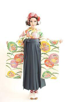 * Takashima Dali Hair and Kimono Design *