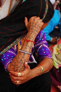 Rabari Tattoo