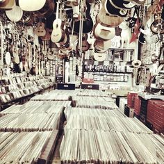 We fell in love over books, coffee, vinyls, and lots of laughs. Vinyl Music, Vinyl Records, Good Music, My Music, Vinyl Store, Buy Vinyl, Vinyl Junkies, Music Store, Music Lovers