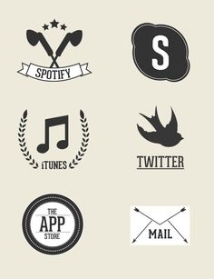 Today Hipster style is one of the best trends of design and it's the most used style by designers while creating a logo, poster or website.