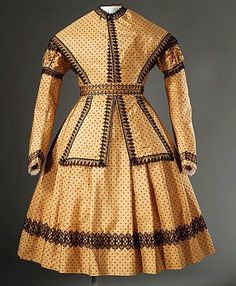 Child's Dress with Pelerine 1869