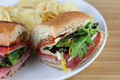 Quizno's Classic Italian Subs -- This is legit (old school way)!  I worked there for years, plus this is MY recipe on the blog!