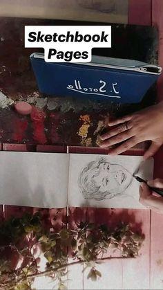 Altered Book Art, Sketchbook Pages, Nature Journal, Pencil Drawings, Creative, Book Art, Pencil Art, Art Sketchbook