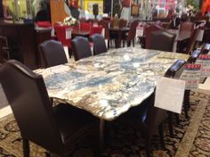 solid granite dining table 345 244 797 1399999 pinned from pinto for ipad - Kitchen Table Granite