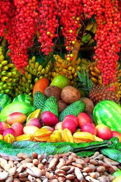 Fruit Stand in San Jerónimo, Western Antioquia.