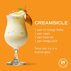 UV+Vodka+Recipe:+Creamsicle