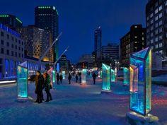 Holographic Prism in Montreal – Fubiz™