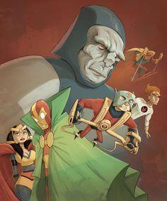 Darkseid and New Gods