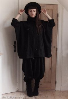 Shortcut to the stars Gothic Fashion, High Fashion, Goth Ninja, Dark Mori, Gianni Versace, Mori Girl, Gypsy, Normcore, Punk