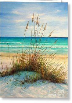 Siesta Key Beach Dunes Canvas Print / Canvas Art by Gabriela Valencia