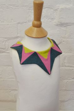 Geometric Little Girls Collar