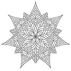 Geometrip.com - Free Geometric Coloring Designs - Shapes