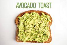 mix and match avocado toast
