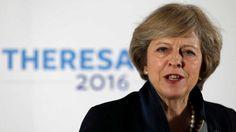 """Die britische Politikerin Theresa May wird als neue Premierministerin ihr Land aus der EU führen. """"Brexit bedeutet Brexit - und wir werden einen Erfolg daraus machen"""", sagte sie am Montagabend in ..."""