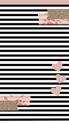 Black Wallpaper iPhone : MsStephieBaby's Themes N' Thangs! : New Freebies for YOU! Black Wallpaper Iphone, Cute Wallpaper For Phone, Heart Wallpaper, Striped Wallpaper, Love Wallpaper, Cellphone Wallpaper, Backgrounds For Android, Ios Wallpapers, Pretty Wallpapers