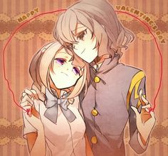 Inazuma eleven go shindou and akane