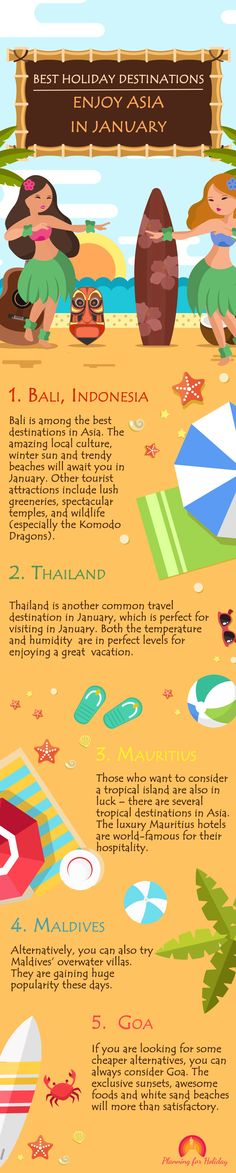 #Planning for going on a #vacation in this #January? Then you have come to the right place. Check out the best #holiday #destinations to enjoy #Asian countries in January. #Travel #Travelling #TravelDestinations